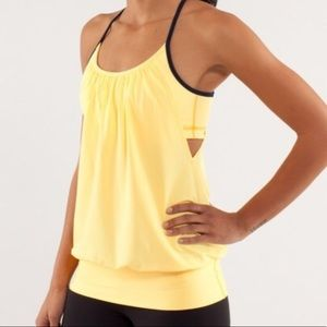 Lululemon No Limits Burning Yellow Tank 4